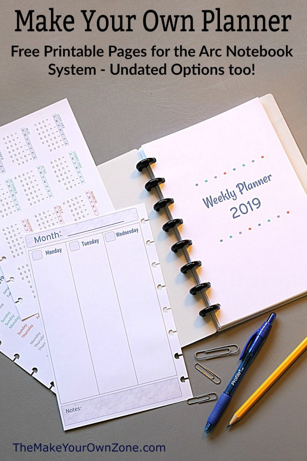 Nerdy image throughout free printable organizer