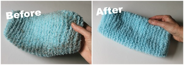 Homemade swiffer cove cleaned with DIY laundry detergent with no borax