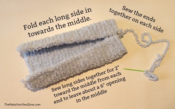 How to make a homemade swiffer cover