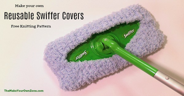 Knitting Pattern for Reusable Swiffer Cover - The Make Your