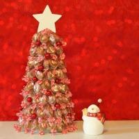 Make A Candy Christmas Tree
