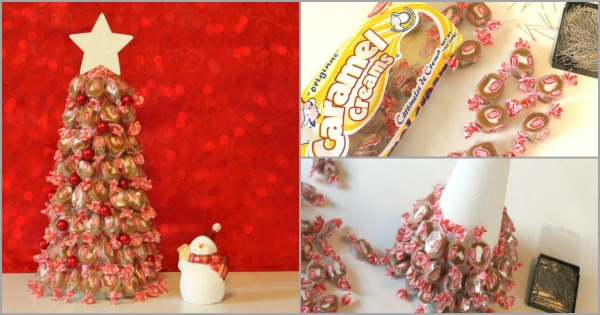 How to make a candy Christmas tree