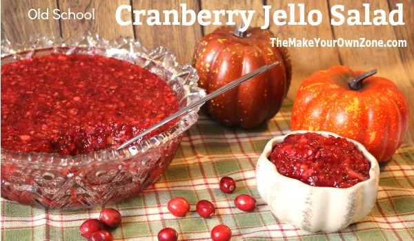 Recipe for cranberry jello salad