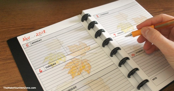 How to print images on your printable planner pages