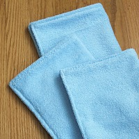 Homemade cleaning cloths