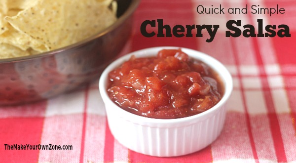 Quick and Simple Cherry Salsa