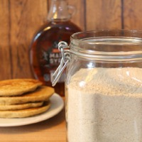 Homemade Whole Grain Pancake Mix