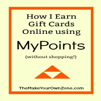 How I Earn Gift Cards with My Points