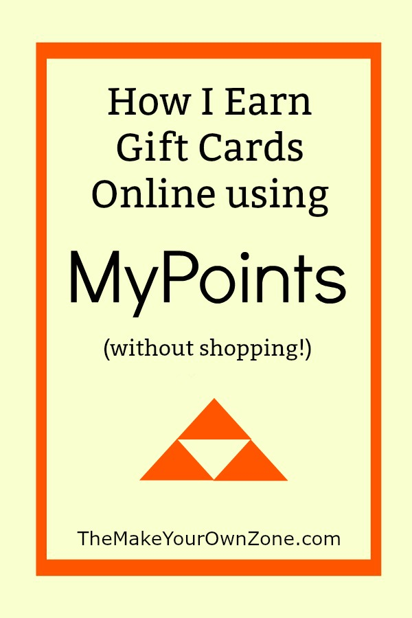 How I Earn Gift Cards Using MyPoints