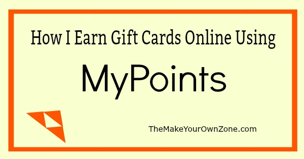 How I Earn Gift Cards Online Using MyPoints