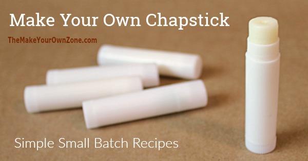 How to make homemade lip balm chapstick