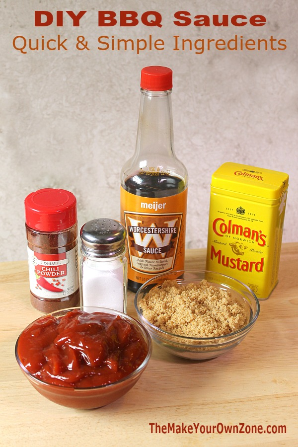 Quick and simple homemade BBQ sauce