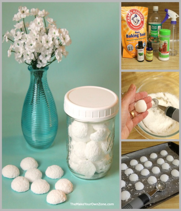 How to make your own toilet cleaning fizzy bomb tablets