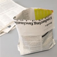 Make a bag from newspaper