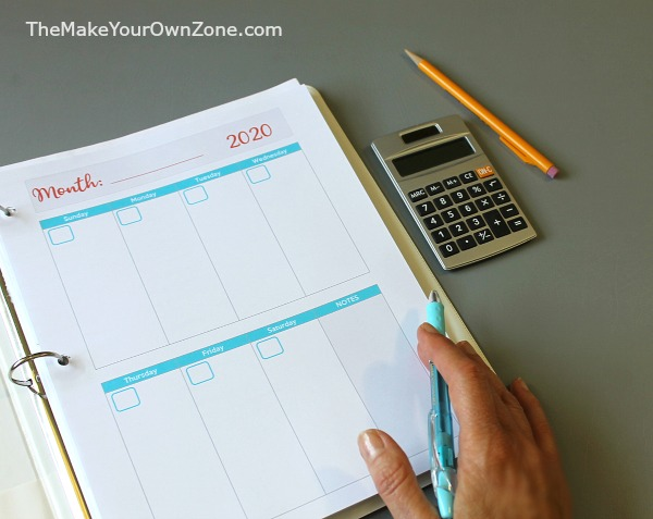 Free printable planner pages for all sizes of Arc notebooks