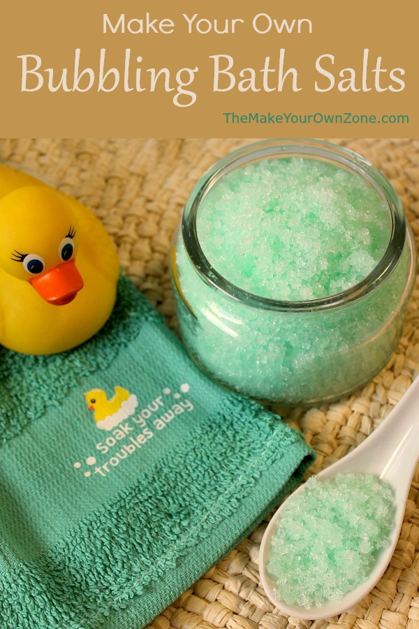 How to make homemade bubble bath salts