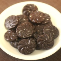 How to make no sugar chocolate sweetened with agave