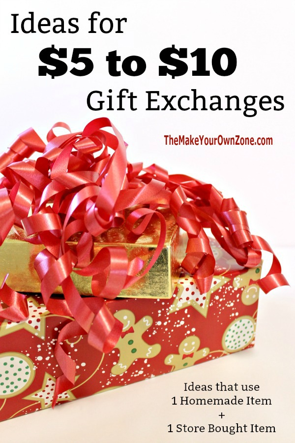 Ideas for a $5 to $10 gift exchange
