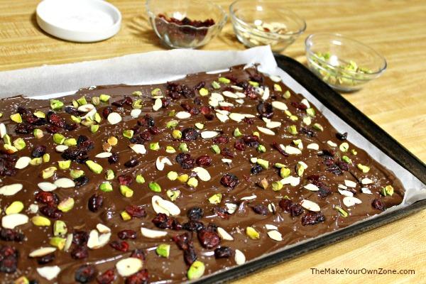 How to make dark chocolate bark