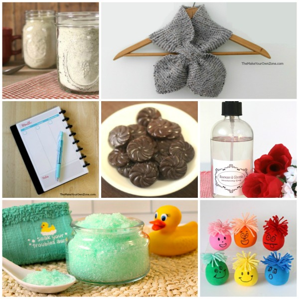 Ideas for a gift exchange using homemade items