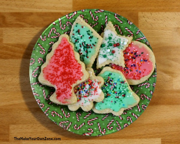 Make your own Christmas plates