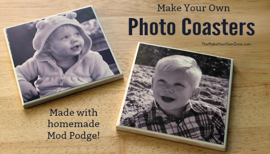 How to make mod podge tile photo coaasters