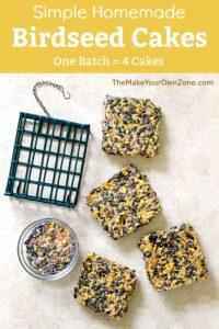 How to make Homemade Birdseed Cakes