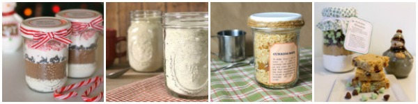 Recipes for layered jar mixes