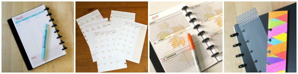 Homemade planner ideas