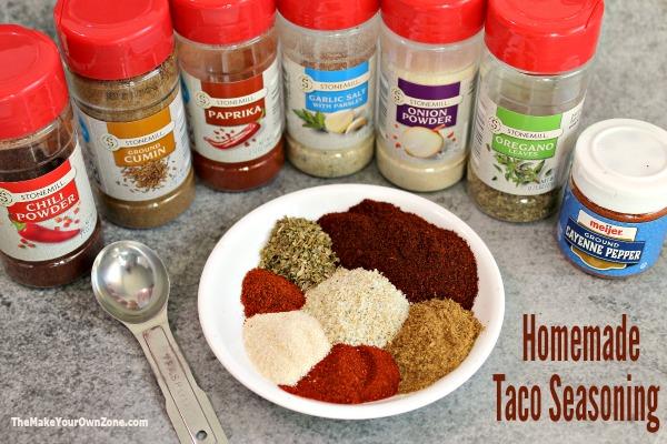 Make your own taco seasoning blend