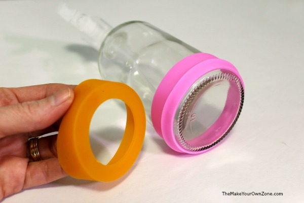 How to make color coded spray bottles