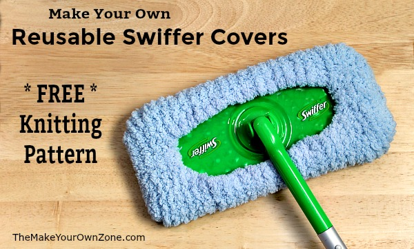 How to knit a reusable swiffer cover