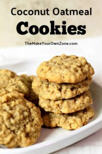 Coconut Oatmeal Cookie Recipe