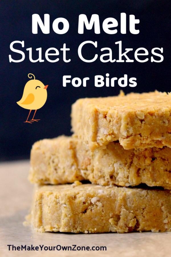 No Melt Suet Cakes For Birds