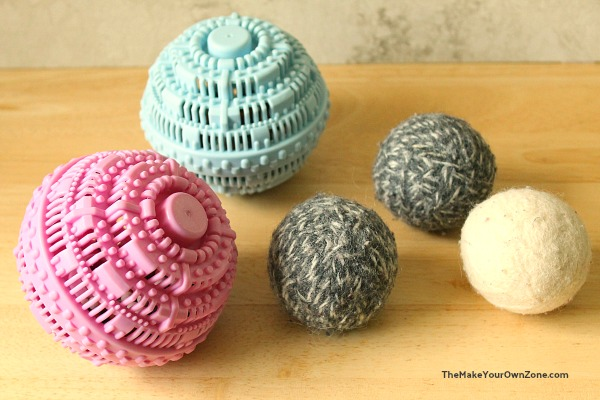 reusable washer balls and reusable homemade dryer balls