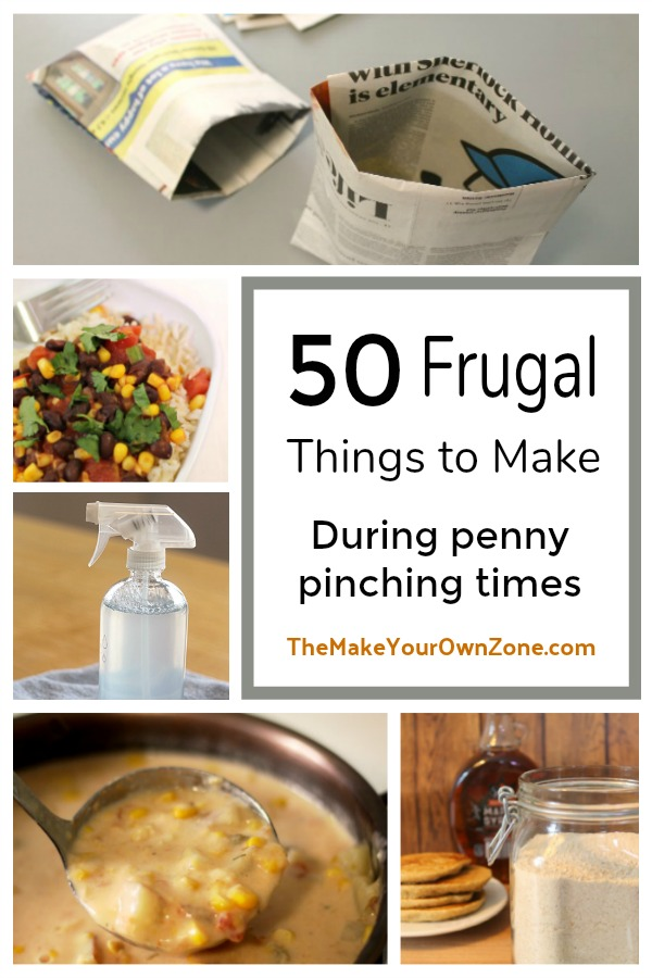 50 Frugal ideas to save money