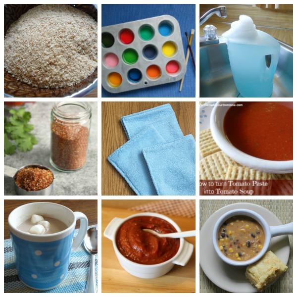 Penny pinching ideas using homemade recipes
