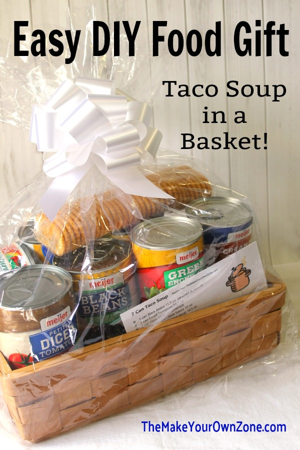How to give taco soup as a gift