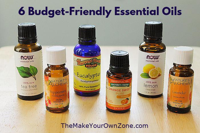 budget friendly essential oils