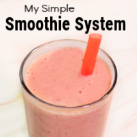 """My Simple Smoothie """"System"""""""