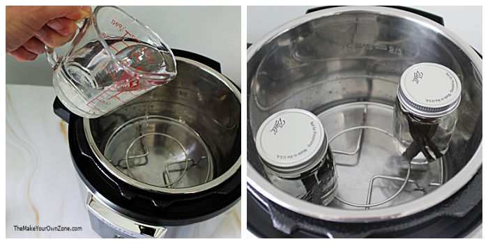 Using an instant pot to make vanilla extract