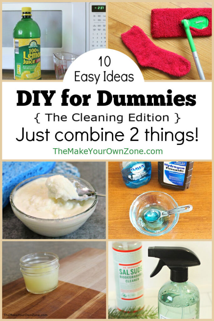 Easy homemade cleaners you can make with 2 ingredients