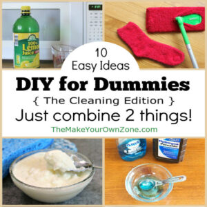 10 Easy homemade cleaners