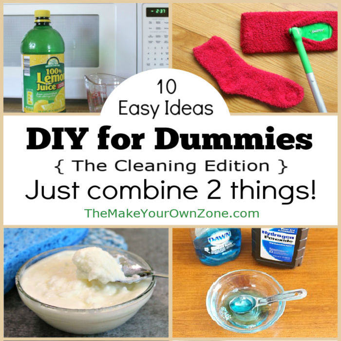 DIY Cleaners – With Just 2 Ingredients!